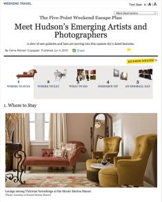 NY magazine Hudson story
