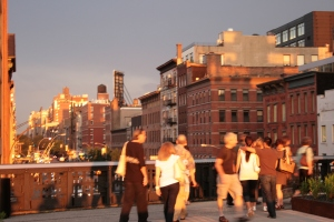 Highline view east