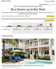 New York magazine, Key West