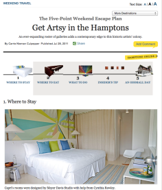 hamptons travel