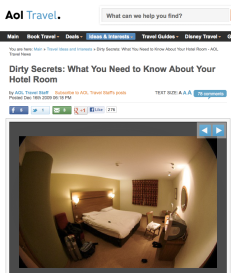 dirty hotel rooms