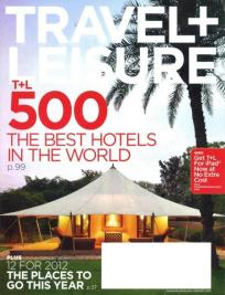 Travel & Leisure 500 Best Hotels