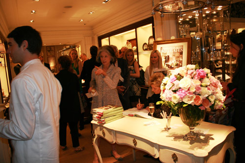 Charlotte Moss book signing at Ralph Lauren