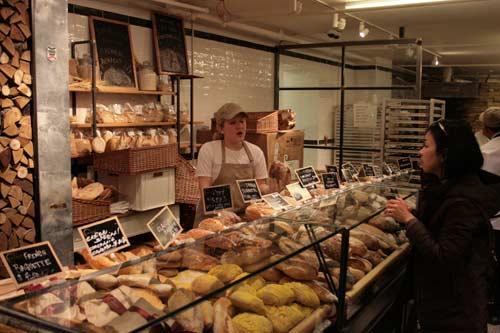 eataly bread counter