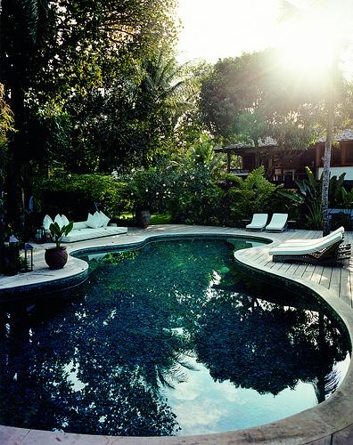 Uxua Brazilian resort pool