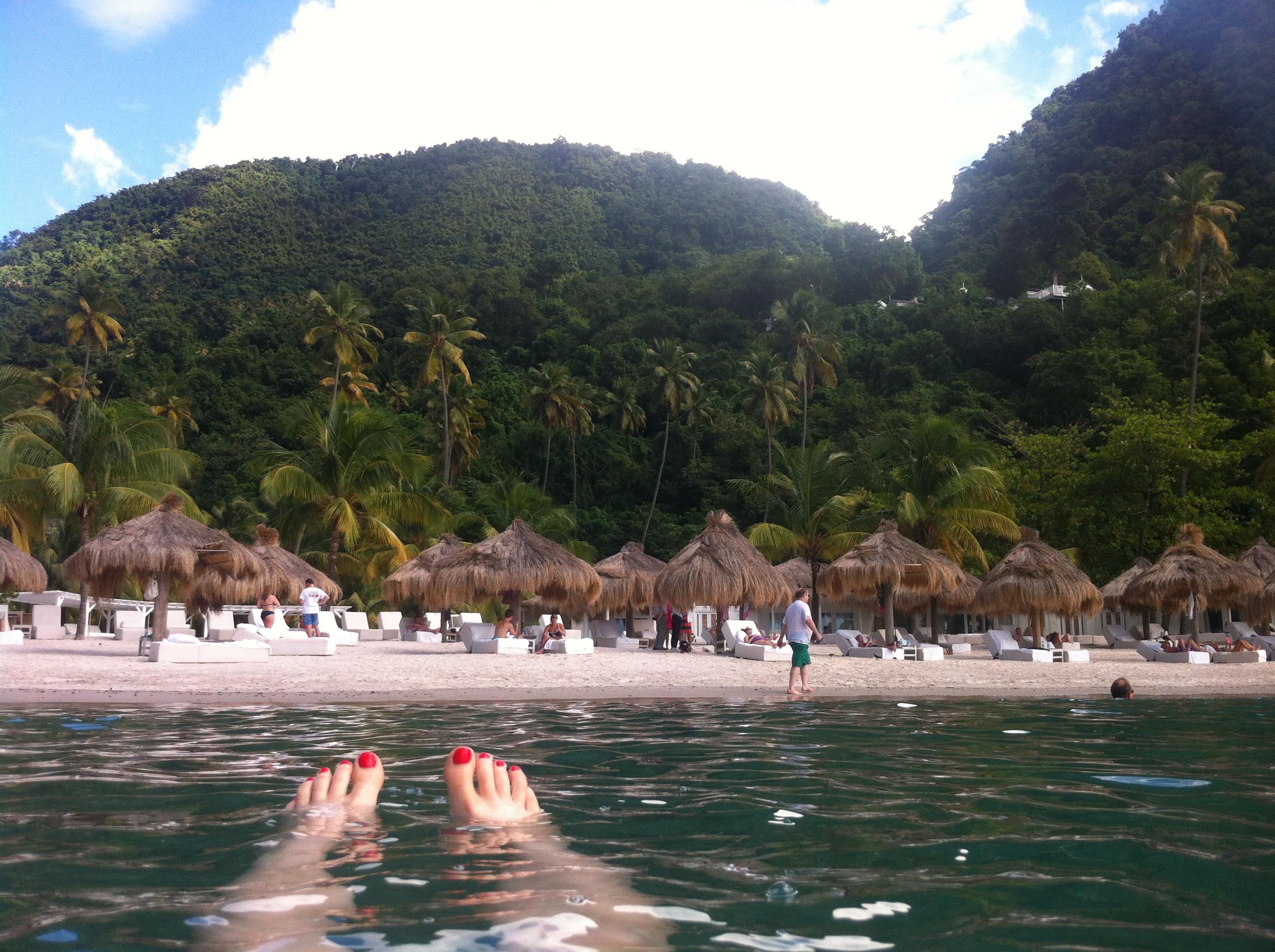 Video Tour Shuttle Ride Through St Lucia S Sugar Beach Culturefix