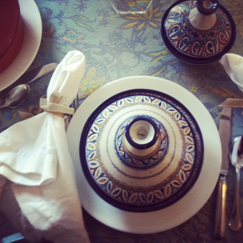 Moroccan Party place setting