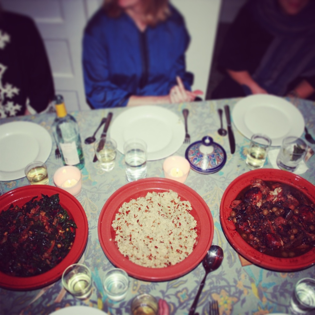 moroccan party dinner