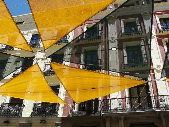 madrid street canopy